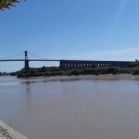 21 Le pont Suspendu Tonnay Charente