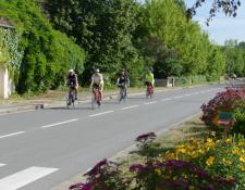"""124 participants à la Randonnée Cyclo """"Coeur de Berry"""", de l'U.S Méreau Vélo"""