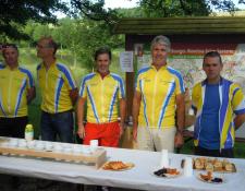 """Bilan de la 18ème """"Ronde des côteaux"""" organisée par SAINT-DOULCHARD Cyclotourisme le 11/06/2017"""