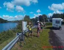 Les cyclos Dolchardiens étaient en Suisse normande