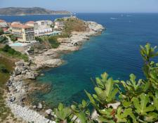 Séjour du CODEP18 en Corse du Sud : L'Ile ROUSSE – Villages de BALAGNE – L'Ile ROUSSE, le vendredi 27 septembre 2019 (L'après-midi)