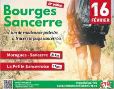 69ème Bourges – Sancerre pédestre, le dimanche 16 février 2020