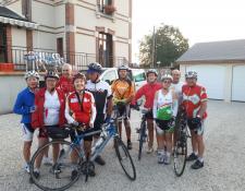 Aubigny Cyclo Marche VTT en voyage itinérant jusqu'à Descartes (37)