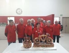 Geste de solidarité à l'assemblée générale du Cyclo Club de Sainte-Solange