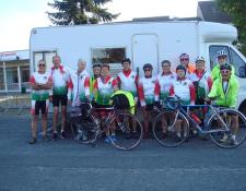 Le Voyage itinérant VIERZON – La ROCHELLE des Cyclotouristes Vierzonnaises