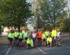 Les Cyclotouristes Vierzonnais sur les routes des vignobles du Centre