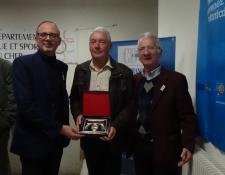 Une récompense pour Jean-Pierre MATHE (C.C ORVAL)