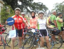 Actualités des clubs : Récit de la 1ère semaine fédérale vécue par Evelyne, licenciée au club d'AUBIGNY Cyclotourisme Marche VTT
