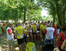 Rando Seniors CE MBDA Bourges Cyclo à Bourgneuf le 15 juin 2017