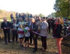Le Pumptrack et le Bike Park de Jouet sur l'Aubois inaugurés