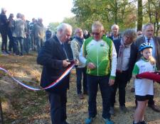 Inauguration du Pumptrack des Randonneurs Jouettois le samedi 20 octobre 2018