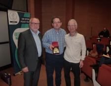 Récompense pour Pascal HUART du Club des Randonneurs Jouettois