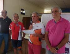 """Beau succès de la  Randonnée """"Séniors"""" """"La Rayonnante"""" organisée le jeudi 05 septembre par l'A.C Uzay le Venon"""