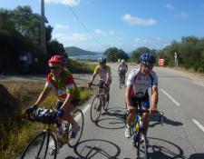 Le séjour en Corse à vélo, c'est fini !