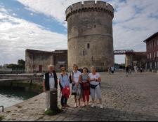 Voyage itinérant féminines Amboise/La Rochelle du 11 au 14/09/2018 Suite et Fin