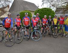 Franc succès de la randonnée du S.C SAINT-AMANDOIS Cyclo