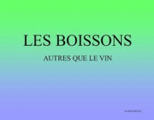Classification des boissons