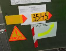 Rappel des règles concernant le fléchage d'un circuit «Route»