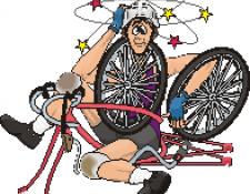 Que faire en cas de chute de vélo, face à un blessé