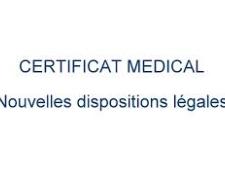 A propos du certificat médical 2020 de non contre-indication pour Mineurs (CMNCI)