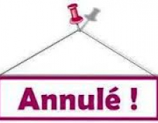 Nouvelles annulations cause COVID