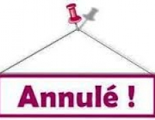 Annulation de manifestation à Bourges, dimanche 13 mai 2018