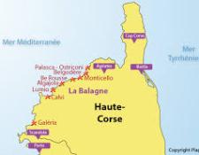 SEJOUR en HAUTE-CORSE du 23 SEPTEMBRE au 1er OCTOBRE 2017