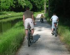 A Vierzon, les travaux du canal de Berry à vélo ont repris