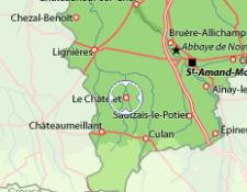 """1ère randonnée """"Séniors""""organisée par leF.R le CHATELET en BERRY, le mercredi 05 septembre 2018"""