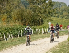 """Bilan de la randonnée VTT """"BOURGES-SANCERRE"""" dimanche 25 Septembre 2016 :"""