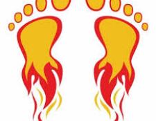 Pathologie du cycliste : Le feu aux pieds