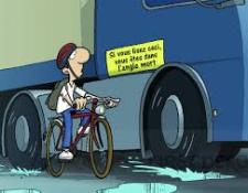 Les angles morts, un danger pour les cyclistes
