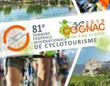 81ème Semaine fédérale de Cyclotourisme 2019 à COGNAC