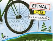 Plusieurs clubs du Cher seront présents du 5 au 12 août à la semaine fédérale internationale de cyclotourisme à EPINAL (88)