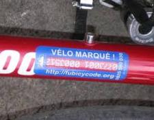 Vélos – Obligation de marquage en 2021