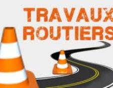 liste des routes barrées dans le Cher suite à travaux pour les semaines à venir.